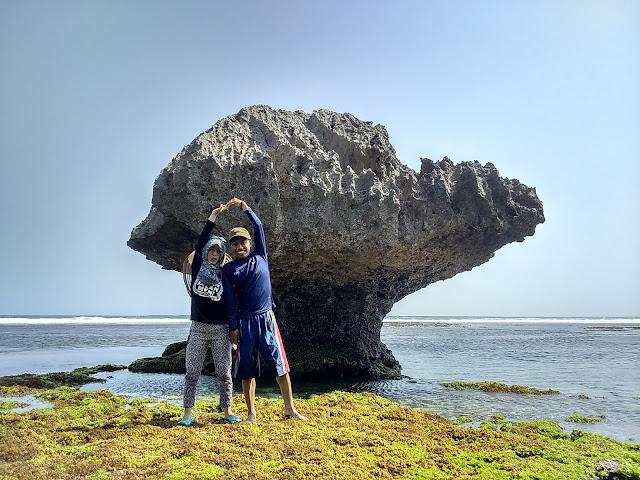 Pantai Drini Watu Payung Gunung Kidul Yogyakarta