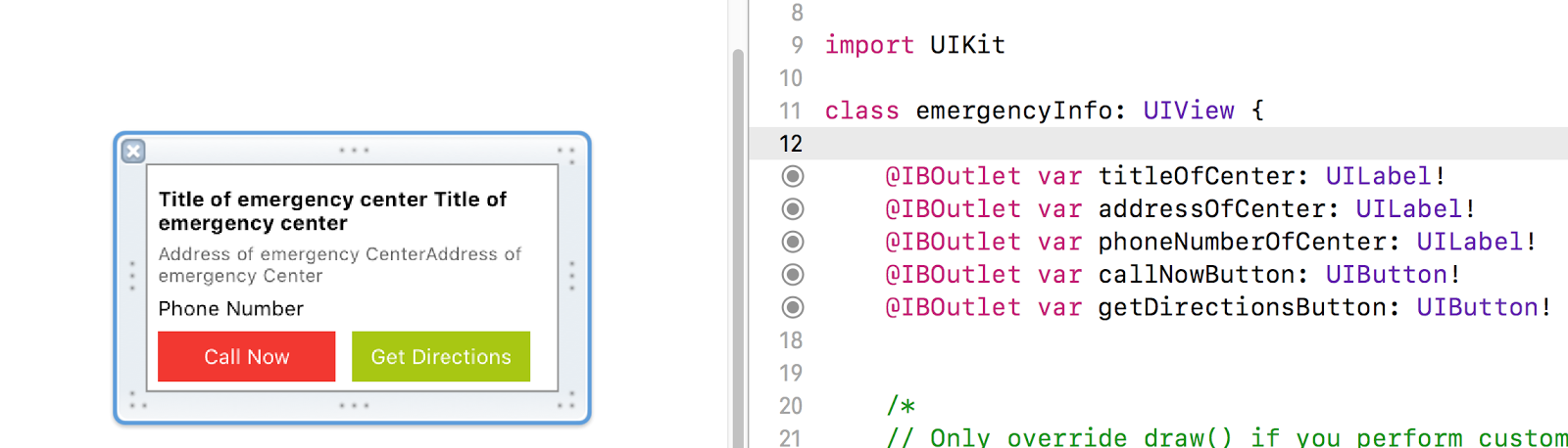 My iOS Learning: Custom Marker Snippet for Google Map Using