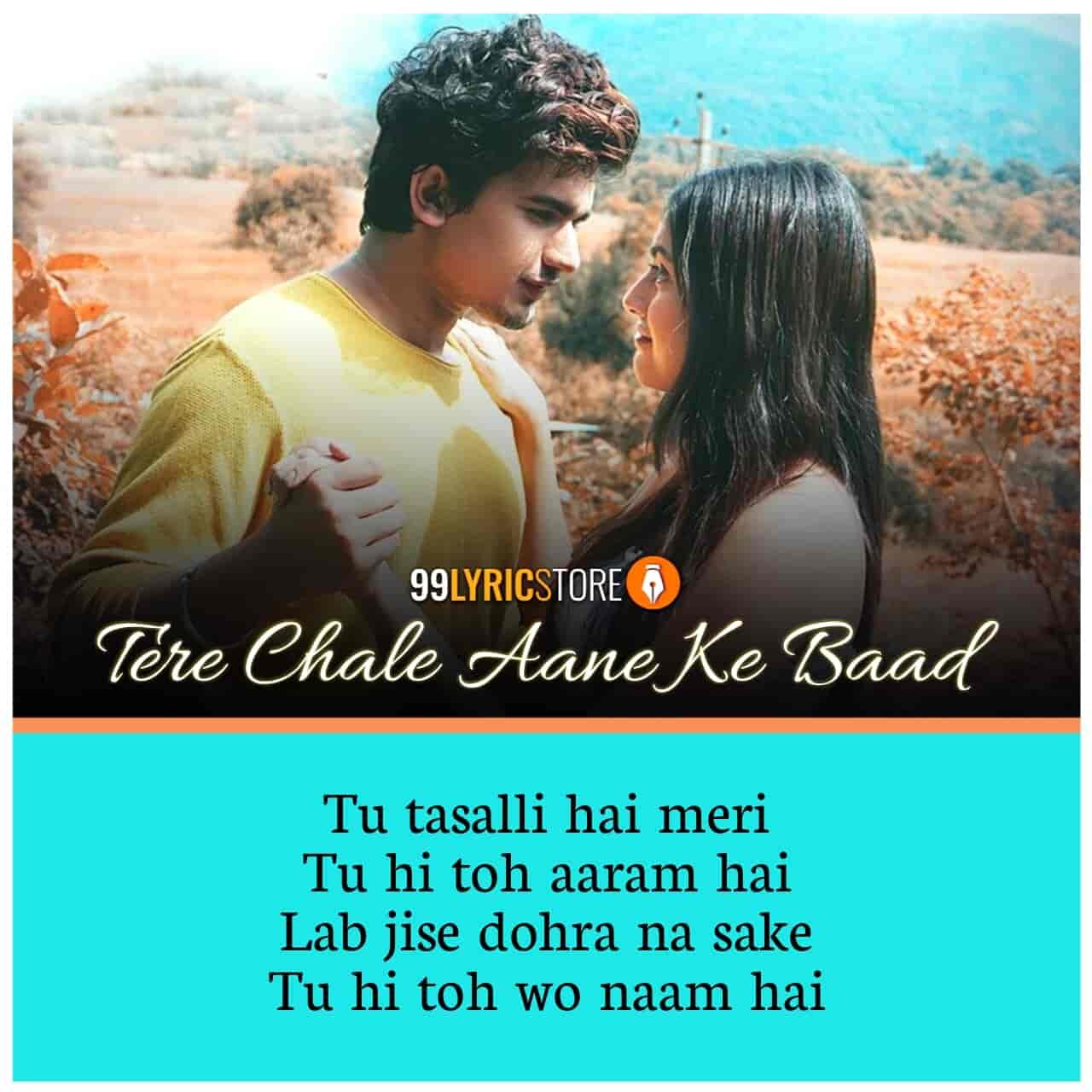 Tere Chale Aane Ke Baad Song Images