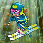 G4K Skillful Skier Escape
