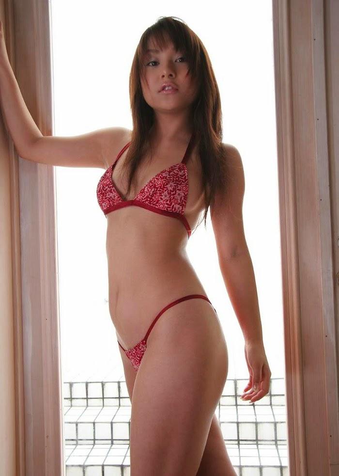 Asian Model Bikini 13