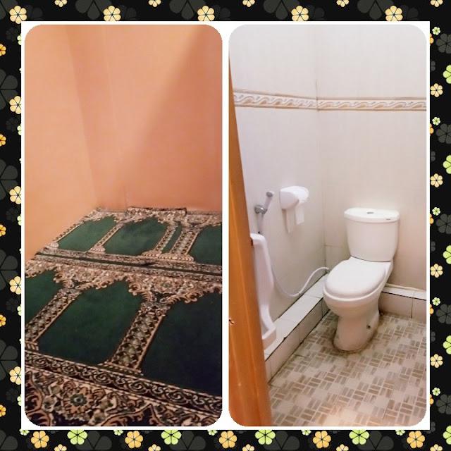 mushola dan kamar mandi di cafe untuk keluarga yang murah