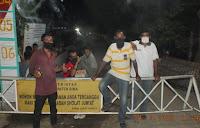 Antisipasi Penyebaran Covid19, Pemdes Sondosia Berlakukan Karantina Wilayah