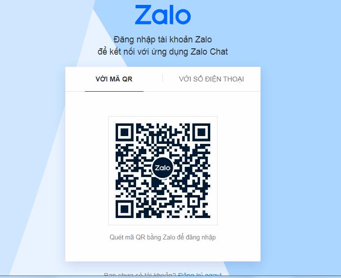 Zalo Web - Đăng nhập Zalo   Chat Zalo.me a