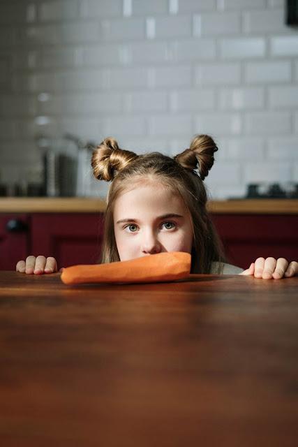 Consejos para niños comer verduras