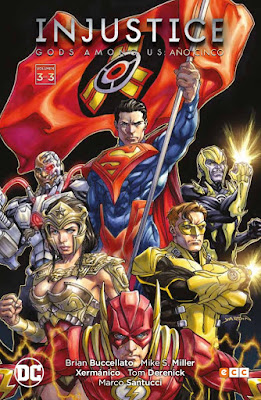 Comic: Review de Injustice: Gods among us Año cinco Vol. 3 de Brian Buccellato - ECC Ediciones