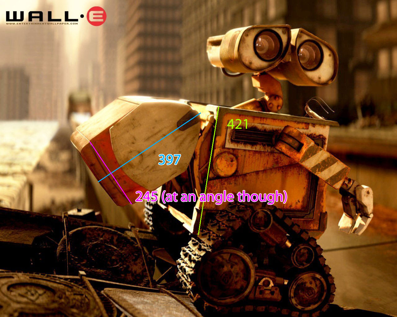 My Adventures With WALL-E: WALL-E Dimensions