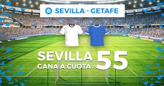 Paston Megacuota liga Sevilla vs Getafe 27-10-2019