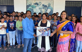 तीन दिवसीय गांधी पुस्तक मेला का IAS शालू सोनी ने किया उद्घाटन | #NayaSaberaNetwork
