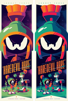 """Looney Tunes """"Haredevil Hare"""" Screen Print by Tom Whalen x Bottleneck Gallery"""
