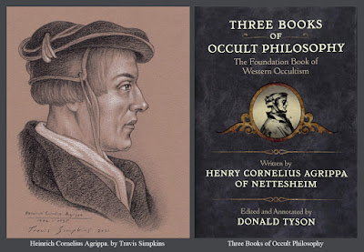 Heinrich Cornelius Agrippa von Nettesheim. Three Books of Occult Philosophy. by Travis Simpkins