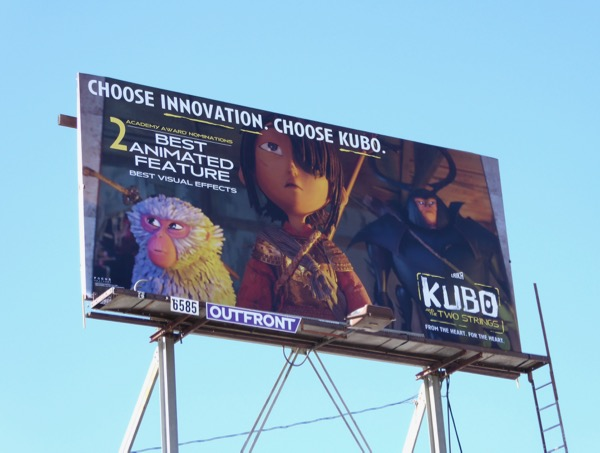 Kubo Oscar Choose innovation billboard