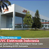 PT. JVC Electronics Indonesia | Operator Produksi Tahun 2020