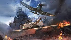 تحميل لعبة حرب الطائرات والدبابات Wer Thunder مجانا برابط مباشر