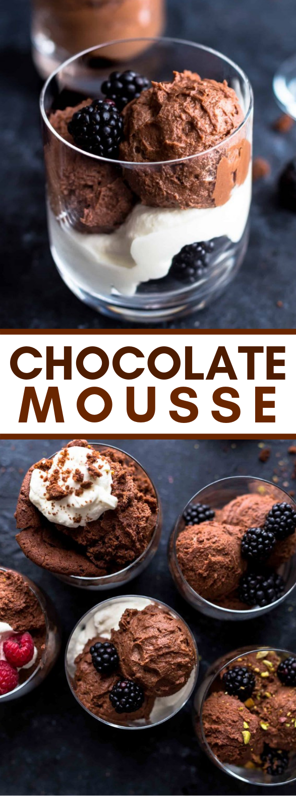 HOW TO MAKE CHOCOLATE MOUSSE #desserts #sweets