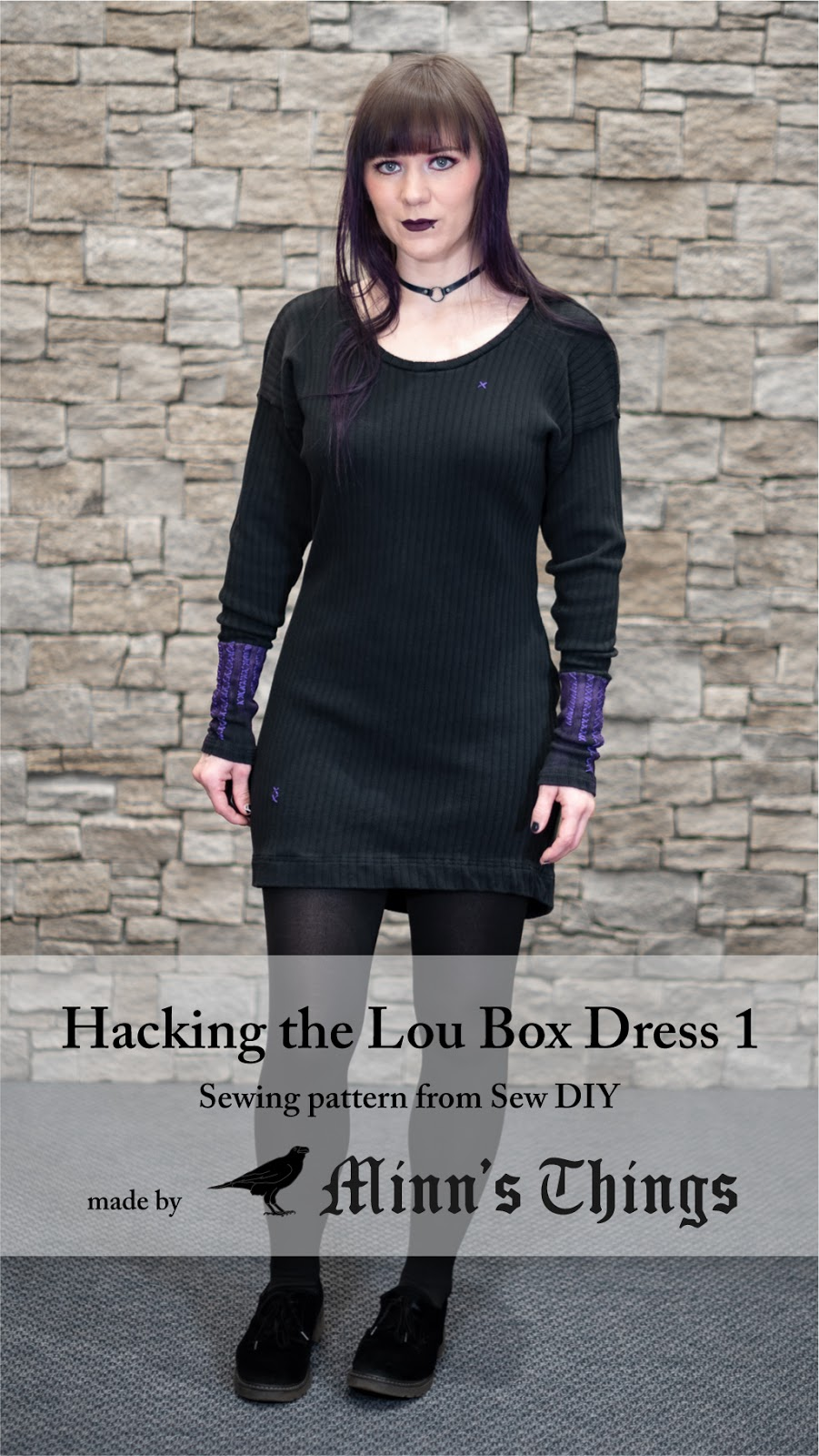 sew diy lou box dress 1 sewing pattern hacks modified hacking minn's things pinterest