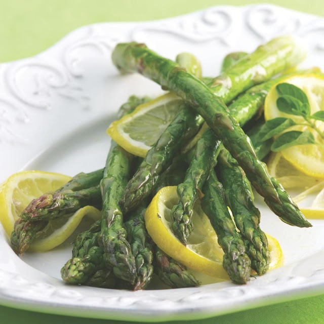 lemon pepper asparagus recipe | asparagus with lemon pepper