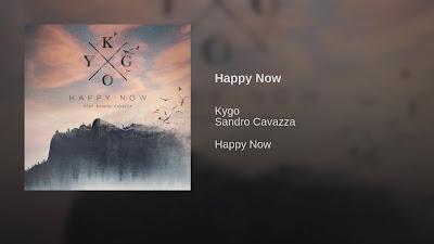 Kygo ft Sandro Cavazza - Happy Now