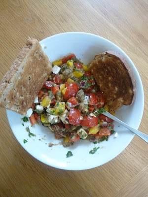Meal planning – using up leftovers