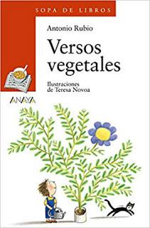 mejores libros de poesía infantil para niños, Versos vegetales Antonio Rubio