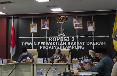 Sekretaris Komisi I DPRD Lampung Sarankan Warga Penolak Vaksinasi Covid-19 Diberikan Sanksi Sewajarnya