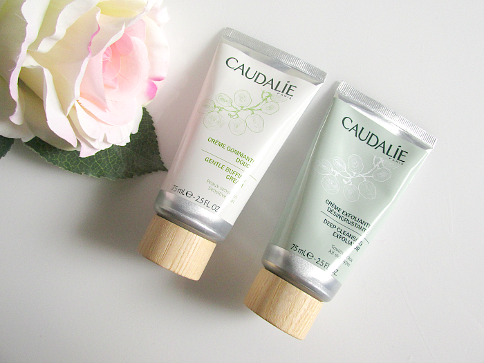 Review: CAUDALIE Peelings - Gentle Buffing Cream & Deep Cleansing Exfoliator - 75ml - je 21.- Euro