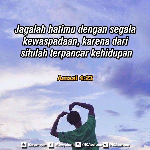 Amsal 4:23