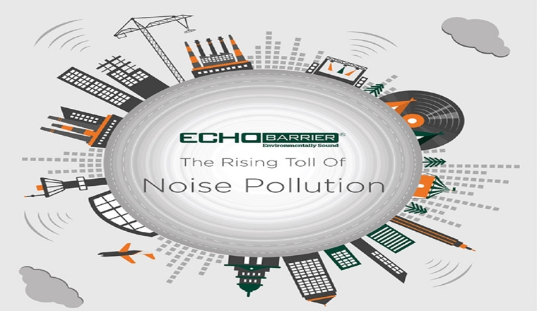The Rising Toll Of Noise Pollution #infographic