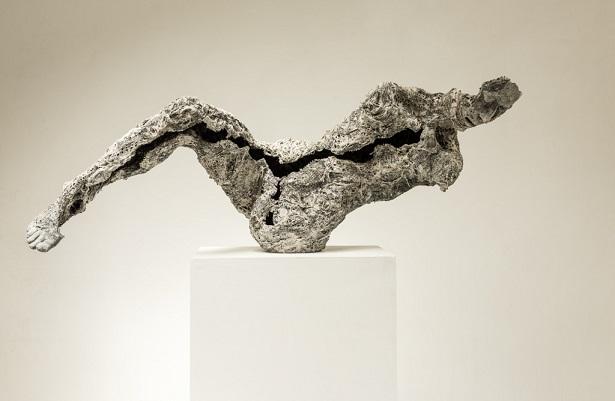 "Anna Gillespie, ""Reclining"" - plaster, resin, mixed media | obras de arte, esculturas figurativas, art pictures, imagenes bellas, sculptures, cool stuff"