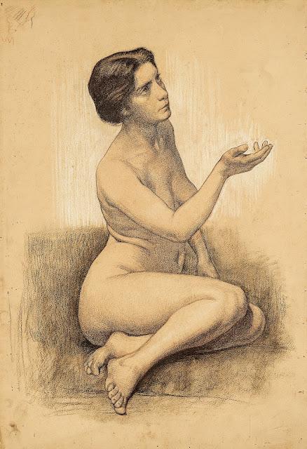 Zygmunt Lipiński: Nudo femminile