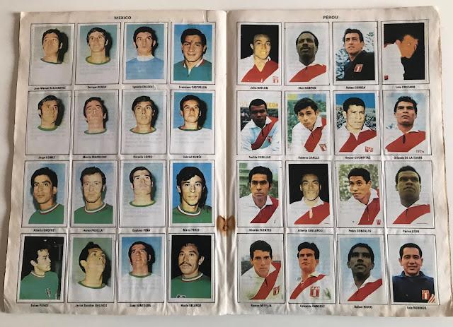 Figurine Perù Album Vanderhout Messico 70