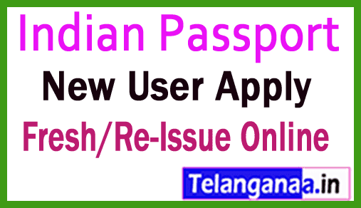 How to Apply for Passport Online Fresh/Re-Issue in India