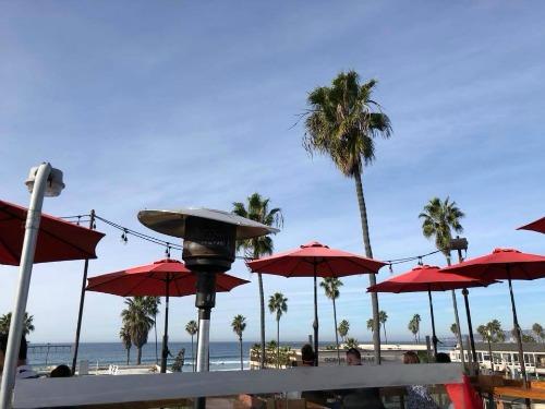 OB Brewery roof deck Ocean Beach San Diego CA