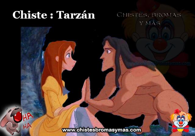 Chiste : Tarzán