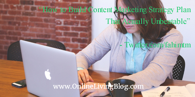 How to Build Content Marketing Strategy Plan