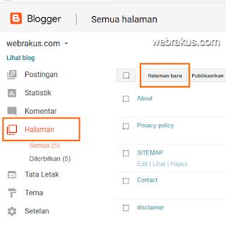 Panduan cara membuat sitemap blog di blogspot blogger