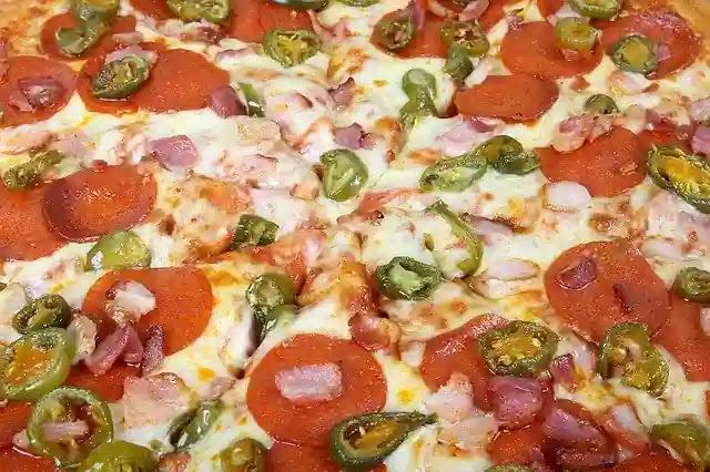 بيتزا مجمدة