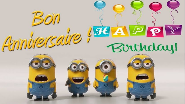 happy birthday minions