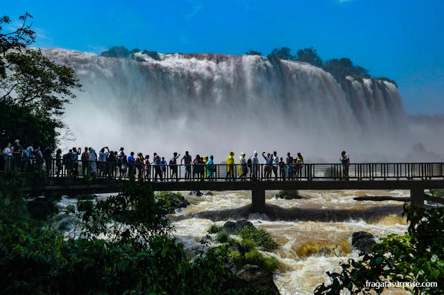 Férias de julho Brasil - Cataratas do Iguaçu