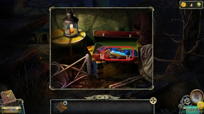 в чемодане находится синяя плитка в игре тьма и пламя 3 темная сторона