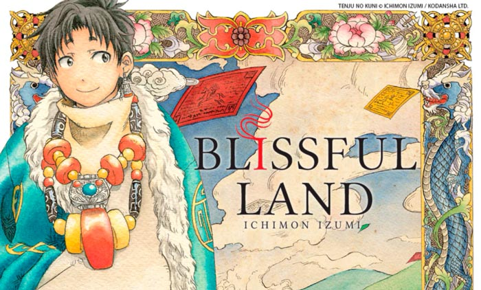 Blissful Land (Tenju no Kuni) - manga - Ichimon Izumi - Milky Way Ediciones
