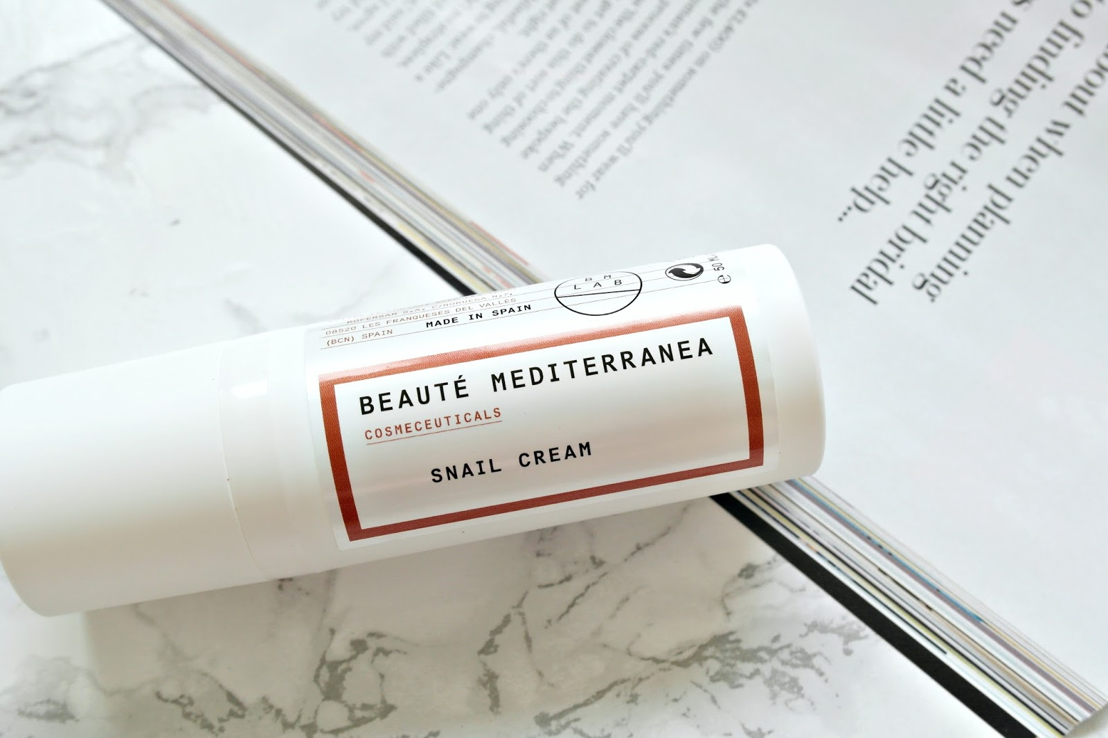 Beaute Mediterranea Snail Cream Review