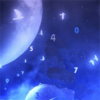 Play HiddenoGames Night Moon Hidden Number