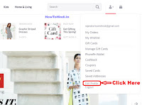 how to update registered mobile number in myntra account online