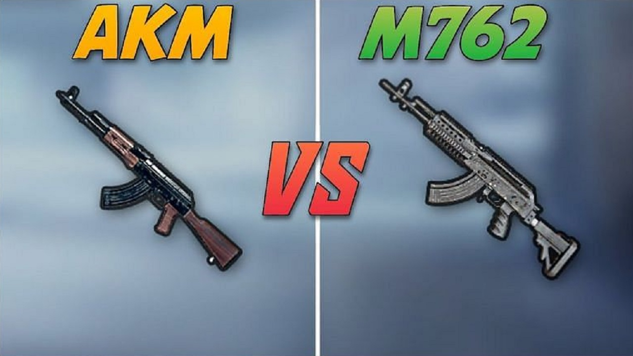 PUBG Mobile: Differences between AKM and M762 Rifles