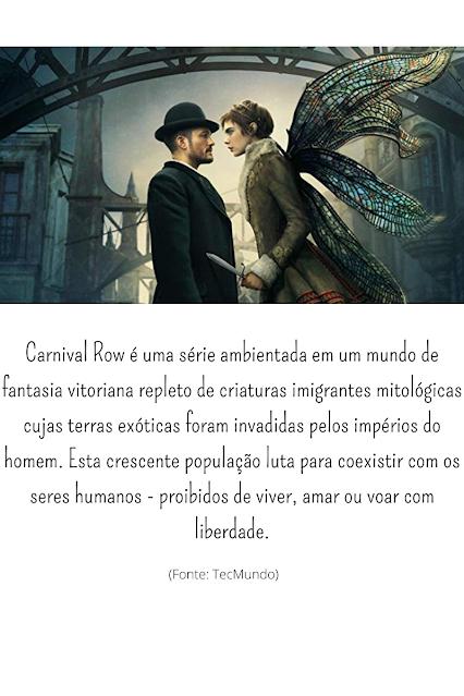 série de ficção cientifica e magia