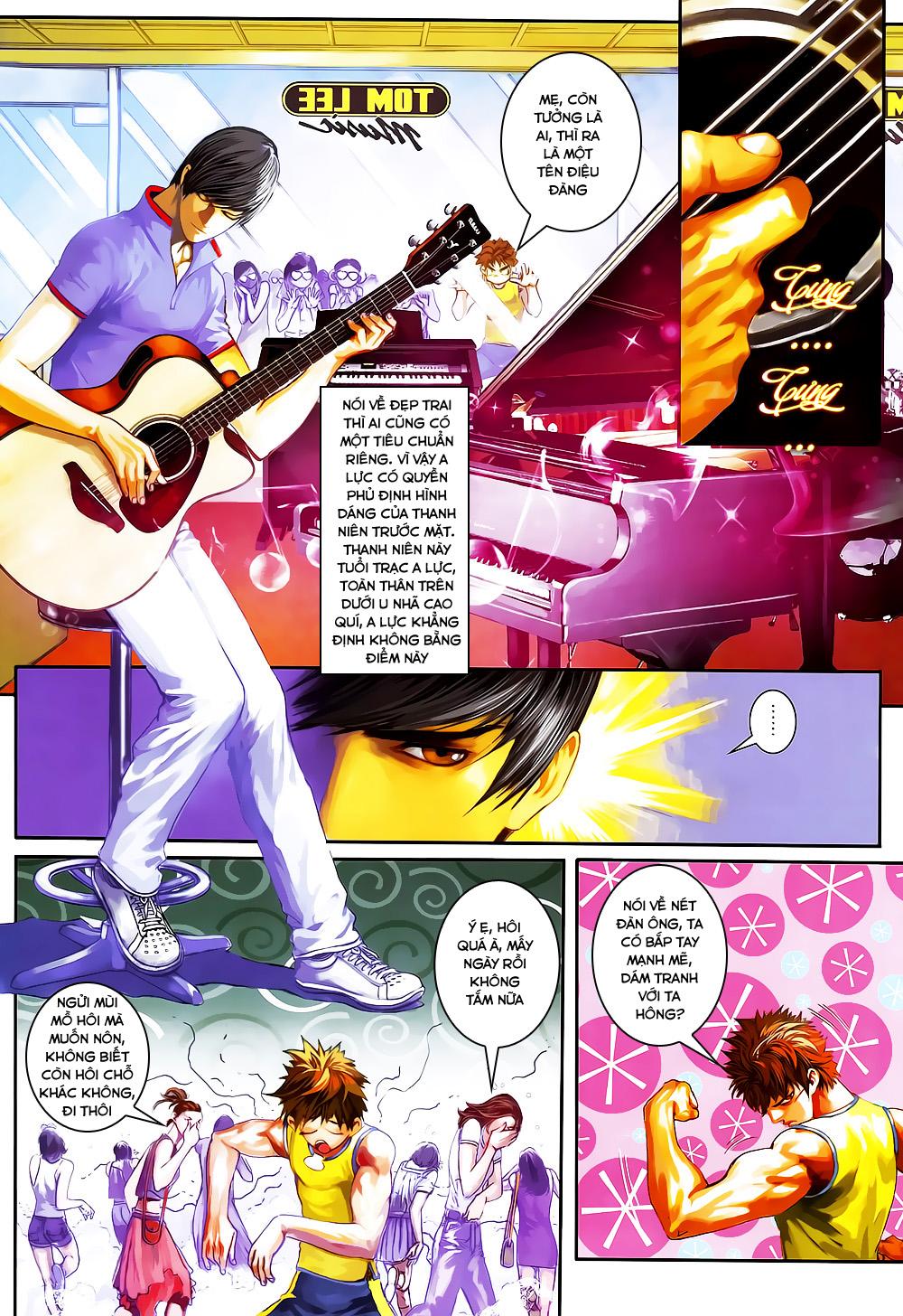Quyền Đạo chapter 4 trang 9