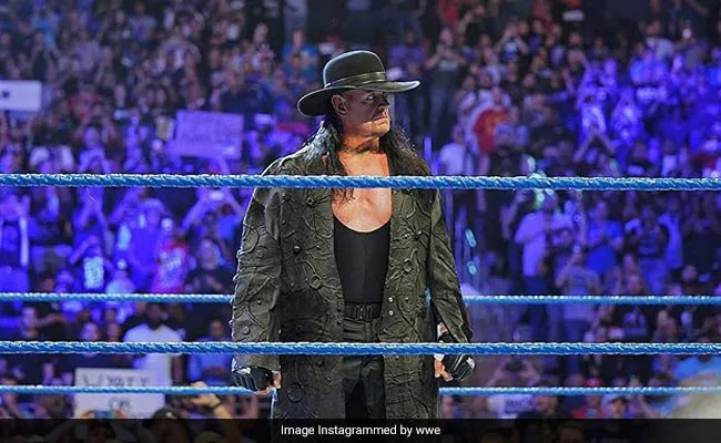 Deadman The Undertaker returns to the ring of WWE
