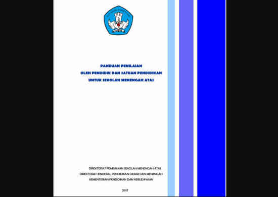 Panduan Penilaian Kurikulum 2013 SMA Tahun 2017