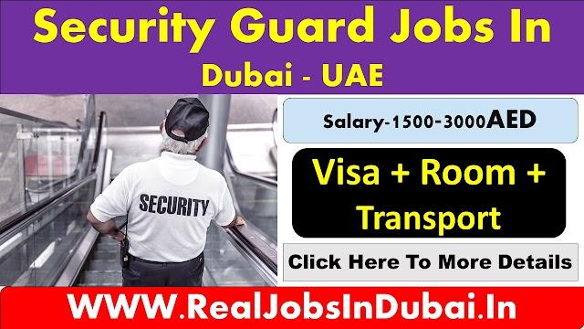 Security Jobs In Dubai - UAE 2020